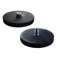 rubber coated pot magnets