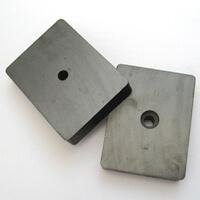 countersunk ferrite magnets