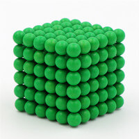 green magnetic ball