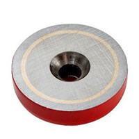 round countersunk pot magnet