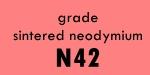 Sintered NdFeB Grade